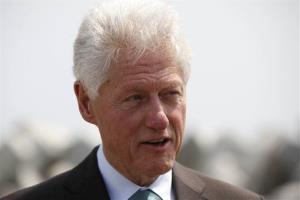 Bill Clinton attends an event in Lagos, Nigeria, Thursday, Feb. 21, 2013.