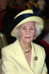 In this Sept. 15, 2005 file photo, Princess Lilian is seen during a lunch at the city hall in Stockholm.