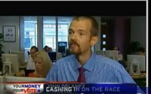 InTrade founder John Delaney is seen during a 2008 interview.
