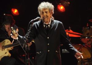 Bob Dylan performs during the 17th Annual Critics' Choice Movie Awards in Los Angeles in January.