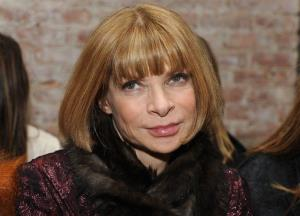 This Friday, Feb. 12, 2010 photo shows Vogue Editor-in-Chief Anna Wintour before the start of the Rag & Bone fall 2010 collection during Fashion Week in New York.