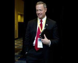 Maryland Gov. Martin O'Malley attends the National Governors Association 2013 Winter Meeting in Washington, in this Feb. 24, 2013 file photo.