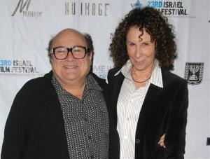 Danny Devito and Rhea Perlman in 2009.