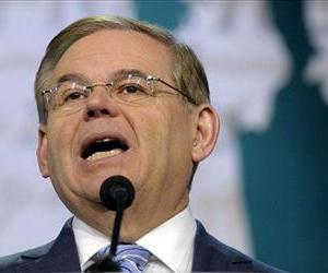 In this March 5, 2013 file photo, Senate Foreign Relations Committee Chairman Sen. Robert Menendez speaks in Washington.