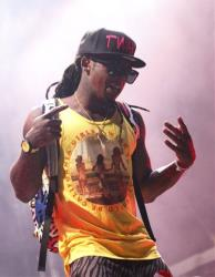 Lil Wayne performs during the Bonnaroo Music and Arts Festival in Manchester, Tenn.