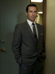 In this file image released by AMC, Jon Hamm stars as Don Draper in Mad Men.