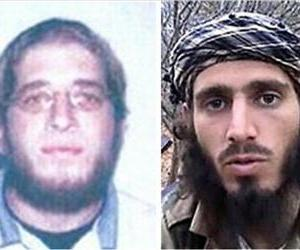 These undated images provided by the FBI shows Jehad Mostafa, left, and Omar Shafik Hammami.