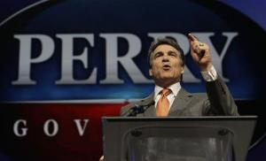 Texas Gov. Rick Perry speaks during the Texas Republican Convention in Fort Worth last June.