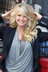 This image released by Starpix shows model and businesswoman Christie Brinkley.