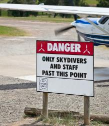 The United States Parachute Association says 19 skydivers died in the US last year.