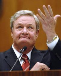 Gov. Jack Dalrymple delivers the State of the State Address at the Capitol in Bismarck, ND, on Tuesday Jan. 8, 2013.