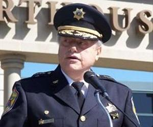 Beaver County Sheriff George David is seen in this official photo.