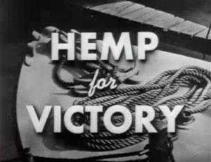 The federal government's attitude to hemp has changed since it produced this 1942 propaganda film.