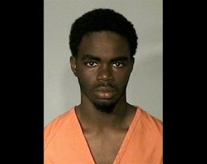 This provided by the Glynn County Detention Center shows De'Marquise Elkins, 17.