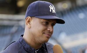 New York Yankees' Alex Rodriguez is the league's best-paid player again.