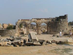 Hierapolis ruins.