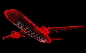 Virgin Group's design for a glass-bottomed plane.