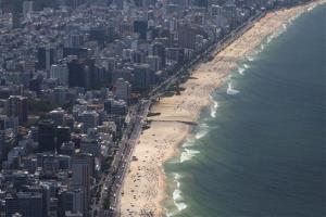 A Rio de Janeiro beach.