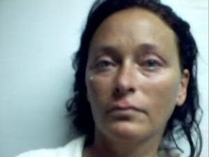 This image provided by the Accomack County Jail shows Tonya S. Bundick, 40, of Parksley, Va., who has been charged with one felony count of arson and one felony count of conspiracy to commit arson.