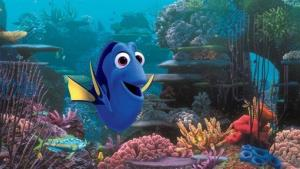 This film image released by Disney Pixar shows the character Dory, voiced by Ellen DeGeneres.