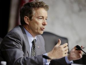 Rand Paul is backing a hardline gun group that's running attack ads against fellow Republicans, including Eric Cantor.