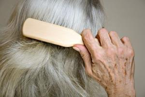 Haircare industry cashes in on aging population's thinning locks.