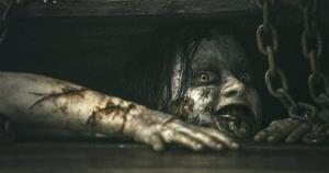 This film image released by Sony-TriStar Pictures shows a scene from Evil Dead.