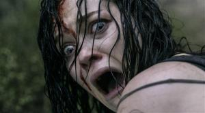 This film image released by Sony-TriStar Pictures shows Jane Levy in a scene from Evil Dead.
