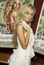 Jenna Jameson arrives at a  screening of  Zombie Strippers.