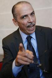 Moroccan actor Mehdi Ouazzani poses  during an interview with the Associated Press in Casablanca, Morocco Monday, April, 1, 2013.