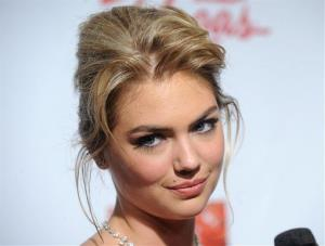 Model Kate Upton attends the 2013 Sports Illustrated Swimsuit issue launch party at Crimson on Tuesday, Feb. 12, 2013 in New York.