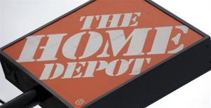 File photo of a Home Depot sign.