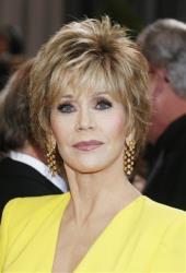 Jane Fonda arrives at the Oscars at the Dolby Theatre on Sunday Feb. 24, 2013, in Los Angeles.
