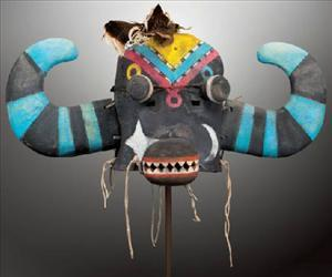 One of the masks that's up for auction.