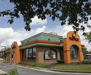 This file photo shows a Taco Bell restaurant in Richmond, Va.