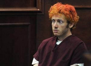 In this July 23, 2012, photo, accused Aurora shooter James Holmes appears in court in Centennial, Colo.
