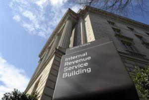 The exterior of the Internal Revenue Service building in Washington, Friday, March 22, 2013.