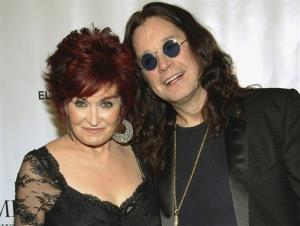 This is a Sept. 25, 2007 file photo of Sharon and Ozzy Osbourne  as they arrive at the Elton John AIDS Foundation's sixth annual benefit An Enduring Vision at The Waldorf-Astoria Hotel, in New York.