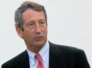 Former South Carolina Gov. Mark Sanford in a 2012 file photo.