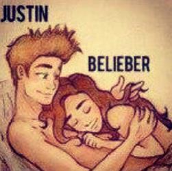 Justin Bieber's Instagram post.