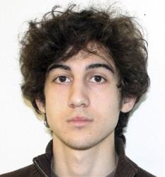 This photo released Friday, April 19, 2013 by the Federal Bureau of Investigation shows Dzhokhar Tsarnaev.