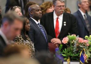 Nevada Senator Kelvin Atkinson announced he is gay during a same-sex marriage vote yesterday.