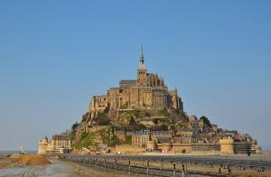 France's Mont-St-Michel, soon to be restored to its island grandeur.