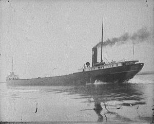 An early picture of the SS Daniel J Morrell, from 1912. In 1966, the Morrell became the second-last industrial boat to sink in the Great Lakes.