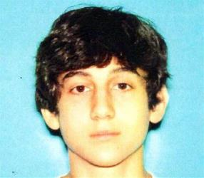 This image provided by the Boston Regional Intelligence Center shows Dzhokhar A. Tsarnaev.