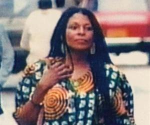 This is an undated file photo provided by the New Jersey State Police showing Assata Shakur - the former Joanne Chesimard.