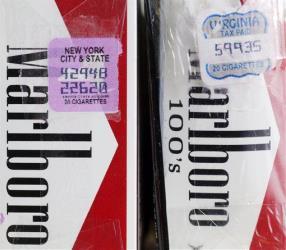 A single cigarette runs a price tag of $30 on NY jail's black market