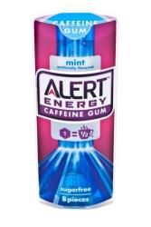 This product image provided by Wrigley shows packaging for Alert Energy Caffeine Gum.