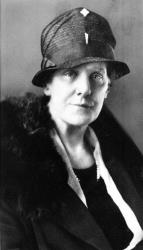 Anna Jarvis, who conceived the idea of a special tribute to mothers, is shown in this 1928 file photo.