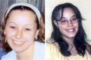 These undated file handout photos provided by the FBI show Amanda Berry, left, and Georgina Gina Dejesus.